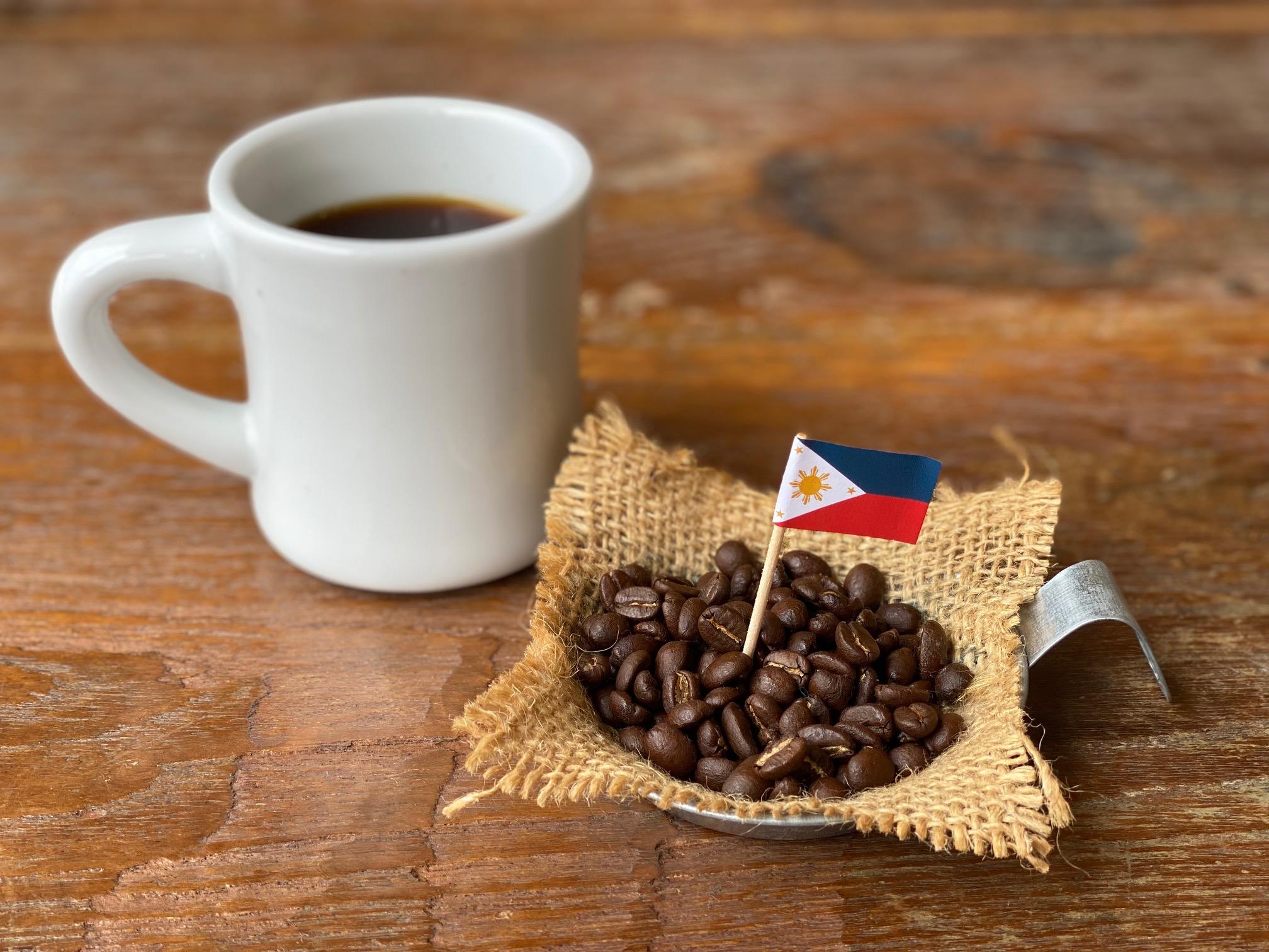 フィリピン山岳地のコーヒー